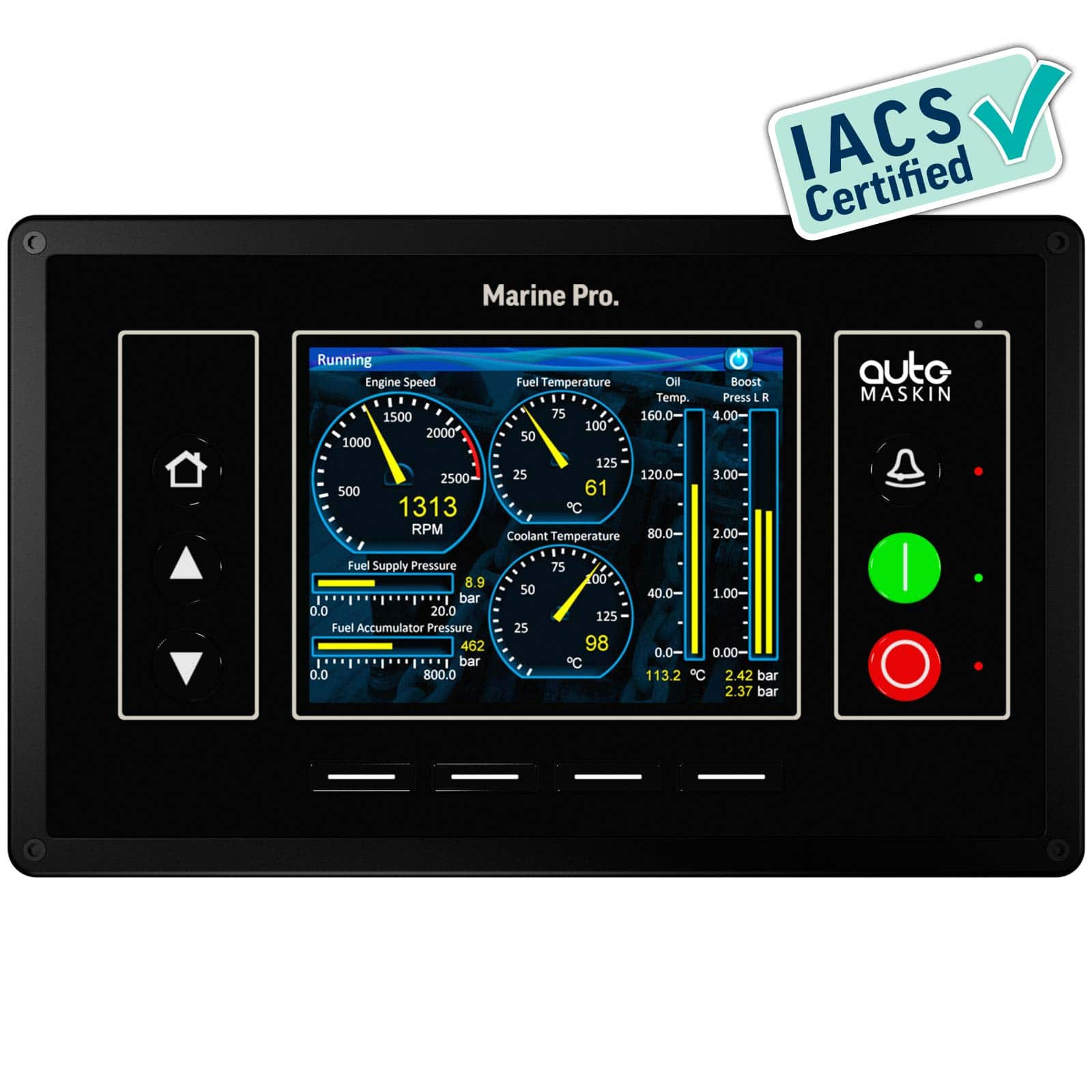 Marine Monitoring System : Dcu e engine controller auto maskin